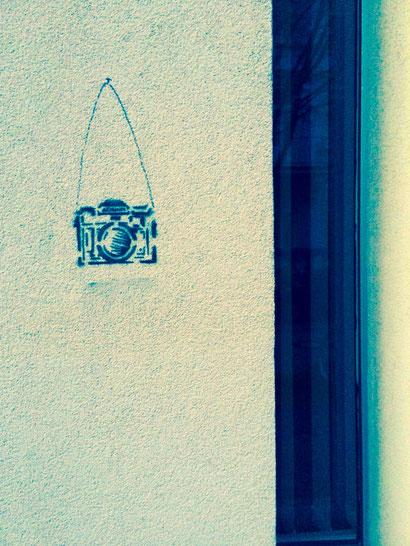 Street-Art Fotoapparat, J.v.Troschke 2014