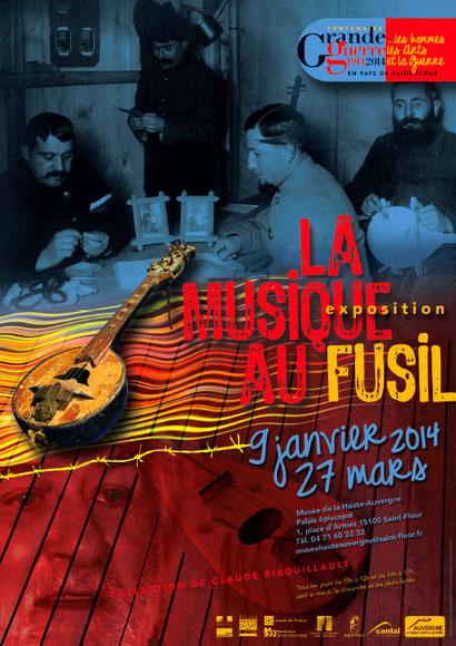 Exposition à Saint-Flour (Cantal) du 9 janvier au 27 mars 2014