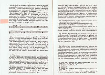 """Tiré de """"Estampies et Danses Royales"""" de Pierre AUBRY, Parios 1907."""