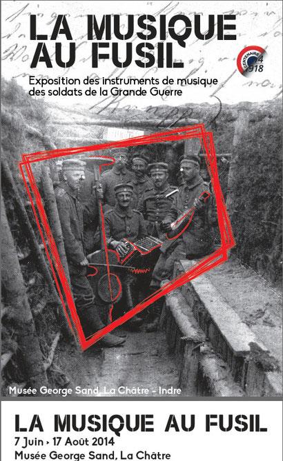 Le visuel de l'exposition à venir à La Châtre, du 6 juin au 17 août 2014