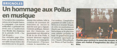 spectacle à Brignoles (Var) le 07/02/2014