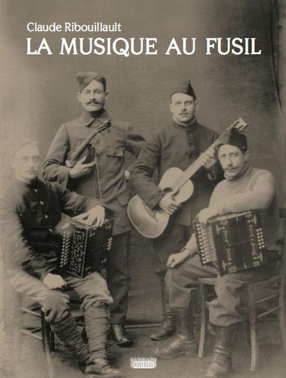 """Nouvelle couverture de """"La Musique au Fusil"""", sortie en janvier 2014"""