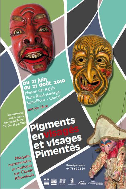 exposition à St-Flour (Cantal), juin-août 2013