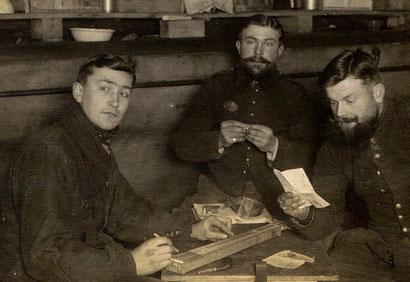 épinette de facture amateur, camp de Königsbrück, Français en Allemagne, 1914-1918