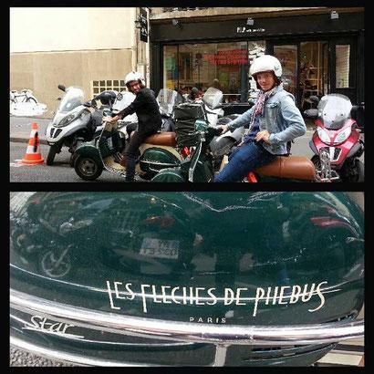 LES FLECHES DE PHEBUS PARIS