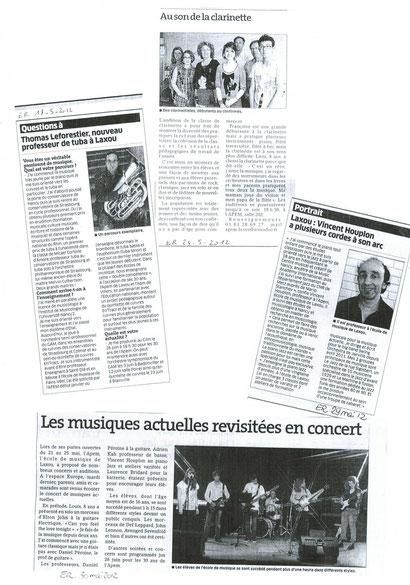 Journées Portes Ouvertes / ER mai 2012