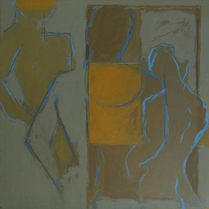 Sans titre / Huile sur toile 50 x 50