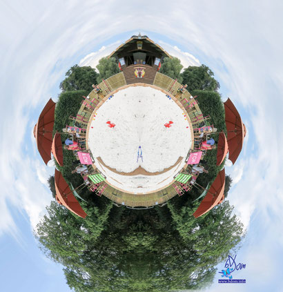 Le ponton Grand Parc d'Enghien