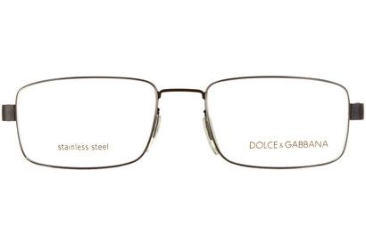 Occhiali da vista Dolce e Gabbana 0613. Colore: E12 nero. Calibro 52-17. Materiale: metallo.