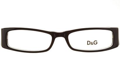 Occhiali da vista D&G 1127. Colore: 675 nero. Calibro 49-16. Materiale: acetato.