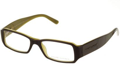 Occhiali da vista Ralph Lauren donna 6005. Colore: 5020 verde. Forma: squadrato. Materiale: plastica.