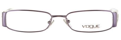 Occhiali da vista Vogue donna 3691B. Colore: 612S tartarugato. Forma: squadrato. Materiale: metallo.