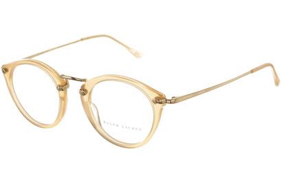 Occhiali da vista Ralph Lauren donna 6094. Colore: 5365 rosa. Forma: pantos. Materiale: plastica e metallo.