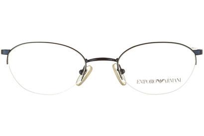 Occhiali da vista Emporio Armani 118. Colore: 1013 blu. Calibro 47-19. Materiale: metallo.