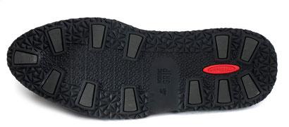 Nordic Grip Galoschen - die Schuhe bleiben unbeschadet.
