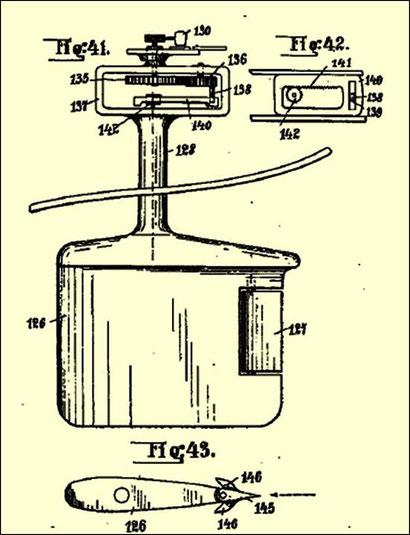 Abbildung 3: Flettner-Ruder (Quelle Patentanmeldung Flettner)