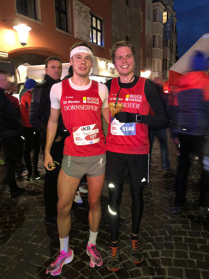 Roter Dress in Innsbruck: Jonas Hoffmann auf Platz 1, Fabian Jenne auf Platz 7