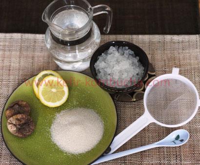 kefir de fruits: ustensiles nécessaires