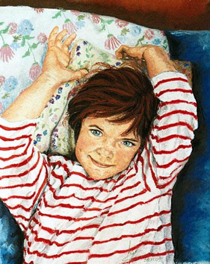 Sourire de Angèle, 2009, 50x60 cm, vendu