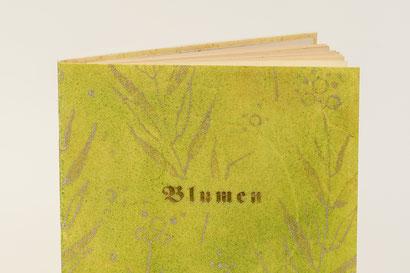 Gedichte Blumen Rudolf Koch Pergament Gampp
