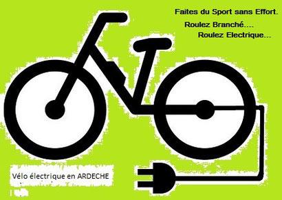 Le Vélo électrique en ARDECHE
