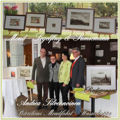 Vernissage im Hotel Peterchens Mondfahrt am 22. März 2014
