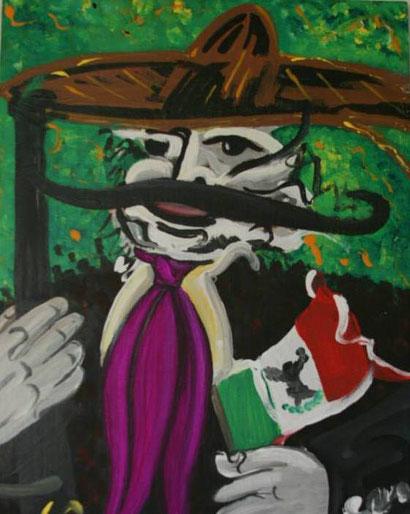 Zapata con Bandera