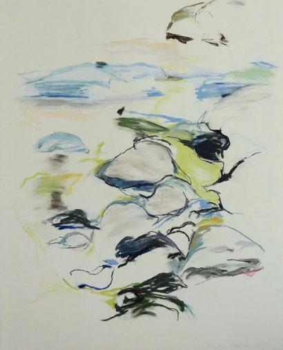 18.7.17 2017 125x100 cm Pastell / Papier