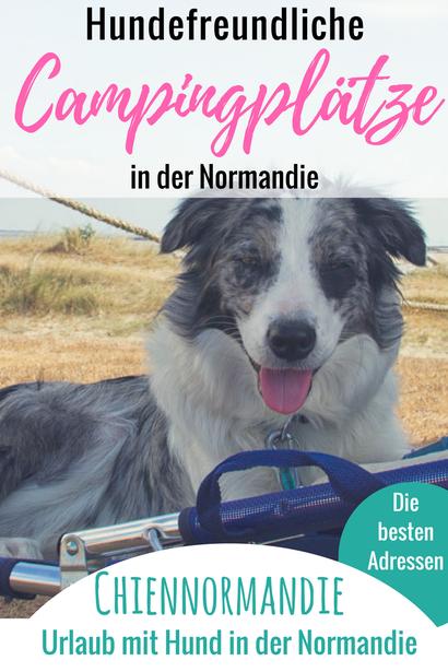 Campingplätze in der Normandie mit Hund, Camping mit Hund Normandie