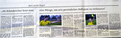 Interview-Publikation (Rendsburger Landeszeitung v. 29.12.2014)