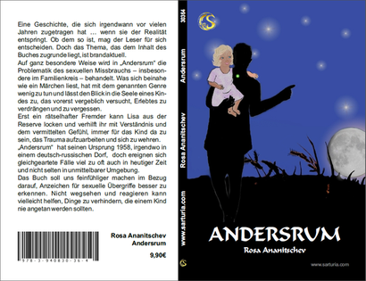 """Cover zum Buch von Rosa Ananitschev """"Andersrum"""" - von Jutta E. Schröder"""