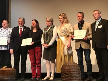 Verleihung des Hessischen Imkerpreis