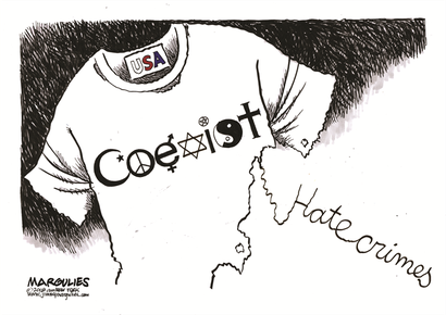 """""""Hate crimes"""", by Margulies (October 27, 2018)"""
