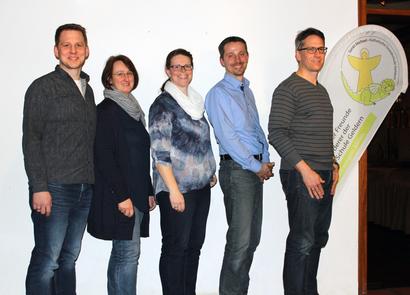 Torsten Rattmann (Vorsitzender), Corinna Engfeld (Stellvertreterin), Christine Wegmann (Schatzmeisterin), Martin Dienemann (Kassenprüfer), Erik Franken (Kassenprüfer)