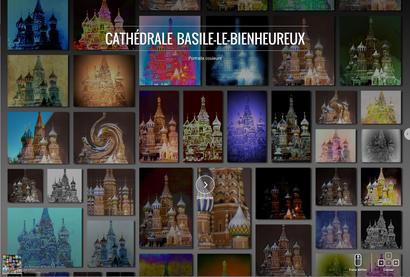 La cathédrale Basile-le-bienheureux - Moscou