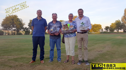 Marcel Zankel (1. Vorsitzender) | Frank Rehm | Rosemarie Stiep | Markus Haas (v.l.n.r.)