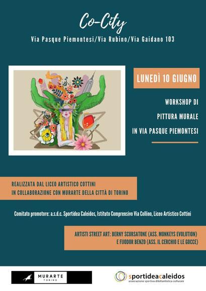 Progetto Co-city: workshop di pittura murale ...