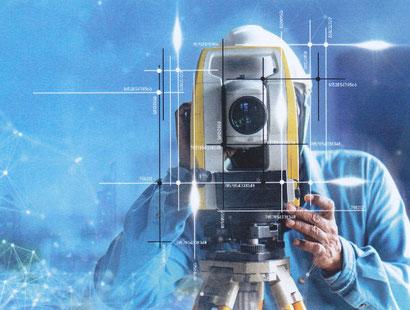 """FARO 3D-Scanner (© Foto aus Prospekt """"Hammer Engineering"""")"""