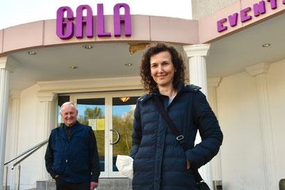 Abteilungsleiter Walter Otto und Pressewartin Gabriele Pegelow