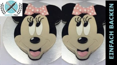 Rosa Minnie Mouse Motivtorte