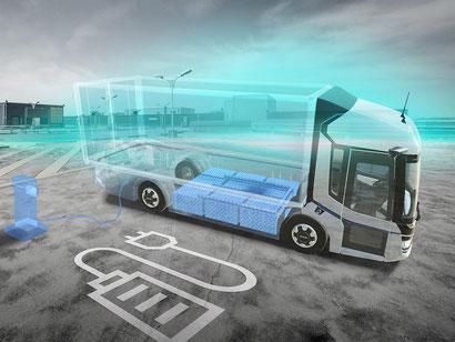 Saubere Leistung und hohe Reichweite dank leistungsstarkem Elektromotor und cleverem Batterie- und Ladekonzept