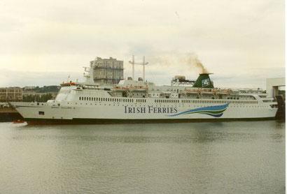 Saint Killian (2) in her Irish Ferries livery.
