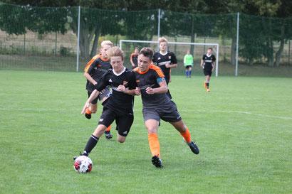 Marius Fleischer gelangen alle drei Treffer für seine Mannschaft.
