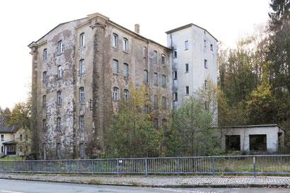Zustand des Gebäudes im Jahre 2017 (Foto: Sebastian Dämmler)