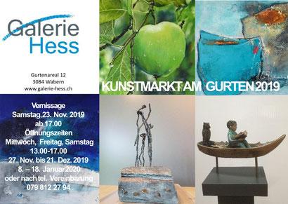 Ausstellung, Kunstmarkt am Gurten, Exhibition, Thea Herzig, Pastell, Malerei