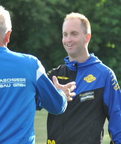 Im abgelaufenen Jahr durfte VfL-Trainer Michael Zuidema viele Glückwünsche entgegen nehmen.