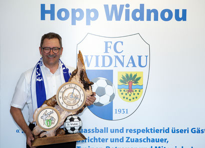 Präsident FC Widnau Kuno Jocham