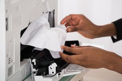 Drucker Reinigung, Wartung
