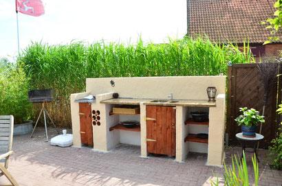 outdoor k chenbau 1 teil h hnerstallbau outdoor. Black Bedroom Furniture Sets. Home Design Ideas