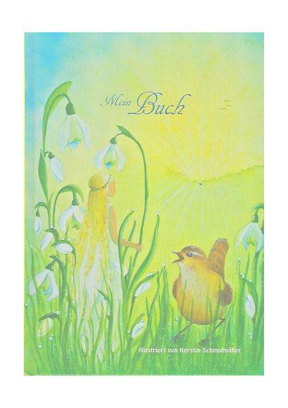 Beim Öffnen wie im Märchen, dann weiß für deine Fantasie, Notizen, Bilder, Tagebuch, Poesiealbum...